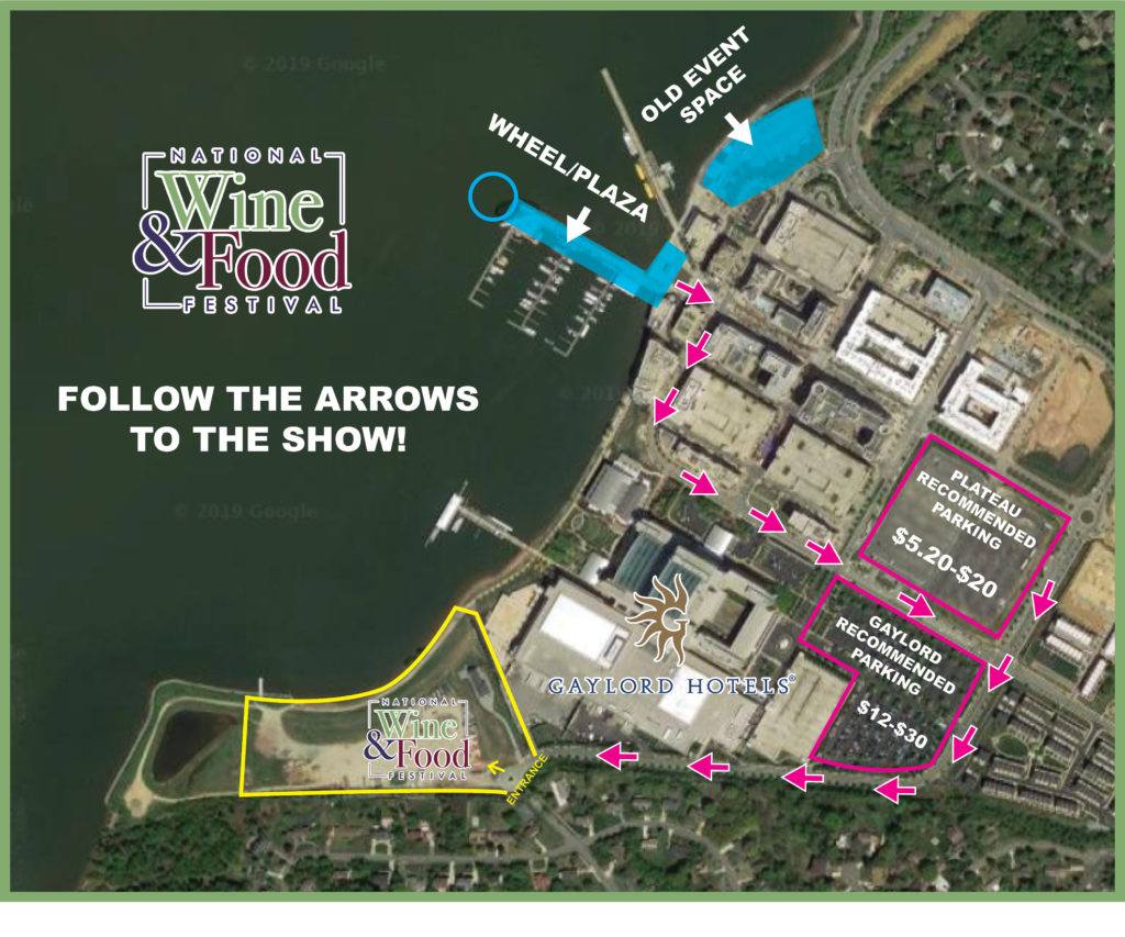National Harbor Wine & Food Festival Parking & Directions